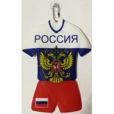 """Флаг России на присоске """"Форма"""""""