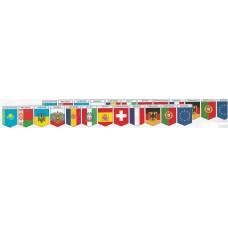 """Флажки """"Флаги стран"""" (комплект 12 шт.)"""