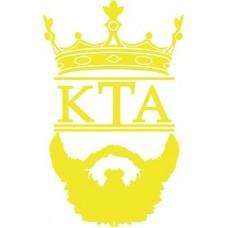 """вырез. """"КТА (борода)"""" (золотой)"""