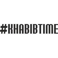 """вырез. """"#KHABIBTIME"""" (черный)"""