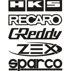 """вырез. """"логотипы №2"""" (черный)"""