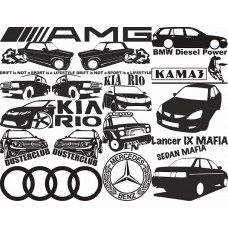 Логотипы (к авто)