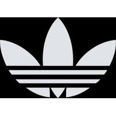 """вырез. """"adidas №3"""" (белый)"""