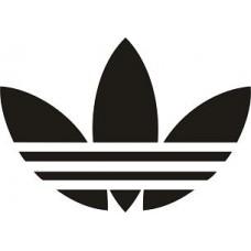"""вырез. """"adidas №3"""" (черный)"""