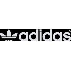 """вырез. """"adidas №5"""" (белый)"""