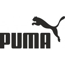 """вырез. """"Puma"""" (черный), упаковка - 2 шт."""
