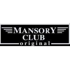 "вырез. ""mansory club"" (белый)"