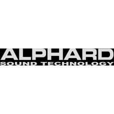 """вырез. """"ALPHARD"""" (белый)"""