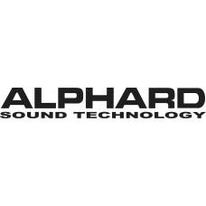"""вырез. """"ALPHARD"""" (черный)"""