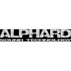 """вырез. """"ALPHARD №2"""" (белый)"""
