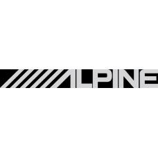 """вырез """"ALPINE"""" (белый)"""