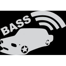 """вырез """"bass"""" (белый)"""