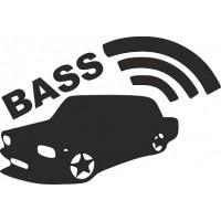 """вырез """"bass"""" (черный), упаковка - 2 шт."""