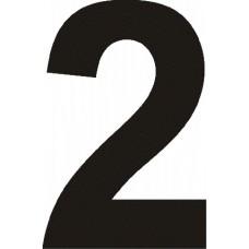 """вырез. """"2"""" (черный), упаковка - 3 шт."""