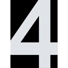 """вырез. """"4"""" (белый), упаковка - 3 шт."""