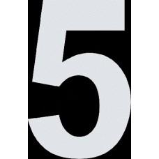 """вырез. """"5"""" (белый), упаковка - 3 шт."""