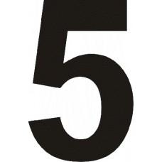 """вырез. """"5"""" (черный), упаковка - 3 шт."""