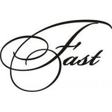 """вырез. """"Fast"""" (черный) упаковка - 2 шт."""