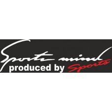 """вырез """"sports mind"""" (белый)"""