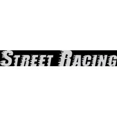 """вырез """"Street Racing"""" (белый), упаковка - 2 шт."""