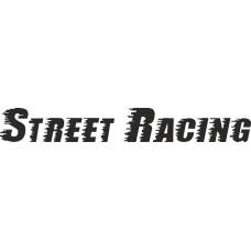 """вырез """"Street Racing"""" (черный), упаковка - 2 шт."""