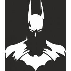 """вырез """"Бэтмен №2"""" (белый), упаковка - 3 шт."""