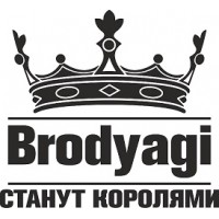 """вырез """"Brodyagi"""" (черный)"""