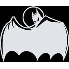 """вырез. """"бэтмен"""" (белый) упаковка - 2 шт."""
