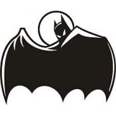 """вырез. """"бэтмен"""" (черный) упаковка - 3 шт."""