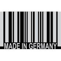"вырез. ""штрих-код (Made in GERMANY)"" (белый), упаковка - 3 шт."