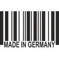 """вырез. """"штрих-код (Made in GERMANY)"""" (черный), упаковка - 3 шт."""