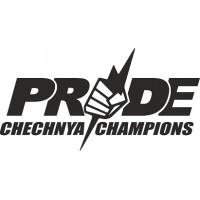 """вырез """"Pride (chechnya)"""" (черный), упаковка - 2 шт."""