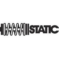 """вырез. """"static"""" (черный)"""