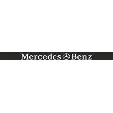 """светофильтр """"Mercedes-benz"""" (черный фон)"""