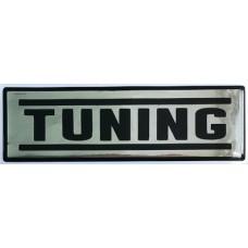 """наклейка объем. """"Tuning"""", горизонтальная №1"""