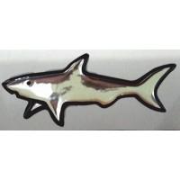 объем. акула (хром)