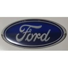 "наклейка объем. ""ford (эллипс, синий)"""