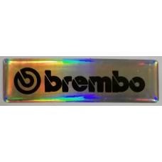 """объем. """"brembo"""" (голография), упаковка - 5 шт."""