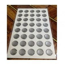объем. 1 см. (серебро) упаковка - 40 шт.