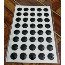 объем. 1 см. (черный) упаковка - 40 шт.