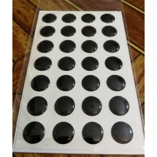 объем. 1,2 см. (черный) упаковка - 28 шт.