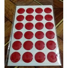 объем. 1,5 см. (красный) упаковка - 24 шт.