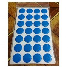 объем. 1,5 см. (синий) упаковка - 28 шт.