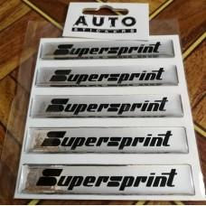 """объем. """"SUPERSPRINT"""" (голография), упаковка - 5 шт."""