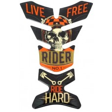"""объем. на бензобак """"Ride hard"""""""