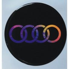 """объем. """"Audi"""" голографическая, комплект - 4 шт."""