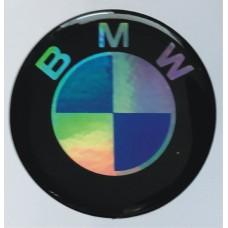 """объем. """"BMW"""", голографическая, комплект - 4 шт."""