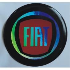 """объем. """"Fiat"""" голографическая, комплект - 4 шт."""