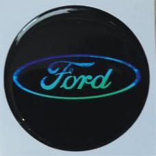 """объем. """"Ford"""", голографическая, комплект - 4 шт."""