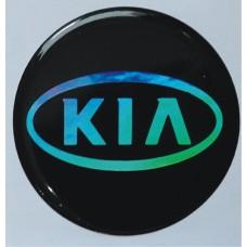 """объем. """"Kia"""" голографическая, комплект - 4 шт."""